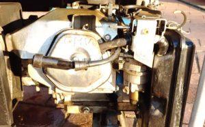 Spark plug in power generator