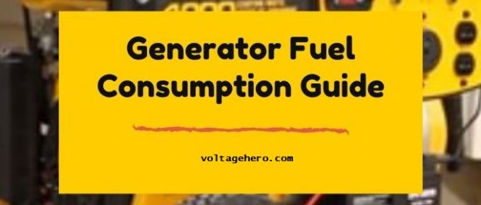 How much fuel your generator should consume?