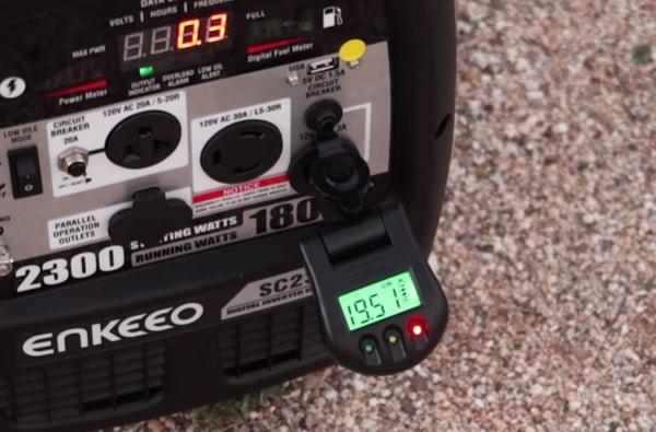Generator fuel measurement