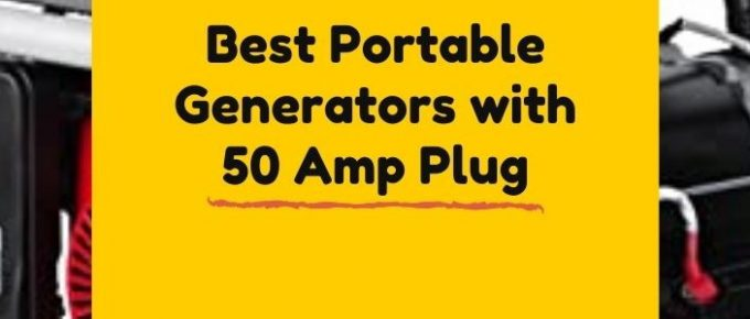 Top-rated power station with 50 Amp plug