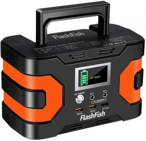 Flashfish lightweight generator