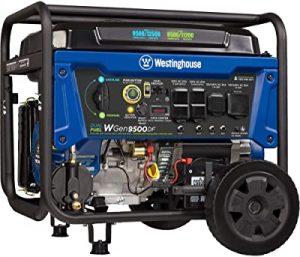 Westinghouse lightweight WGen9500DF power station
